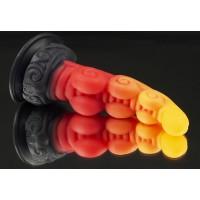 Фаллоимитатор Посейдон SMALL medium velvet touch с присоской ДЕФЕКТ